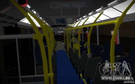 Marcopolo Viale BRT 0500M für GTA San Andreas Innenansicht