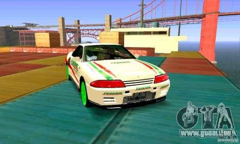 Nissan Skyline GT-R32 BadAss pour GTA San Andreas