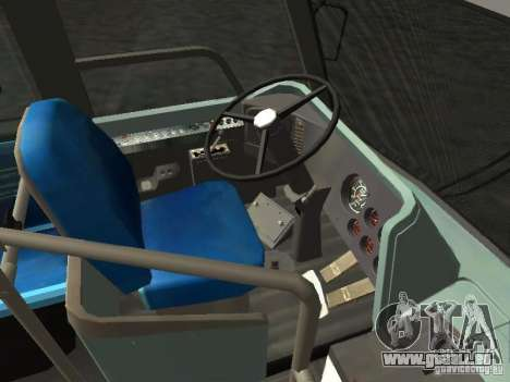 GMC RTS MTA New York City Bus für GTA San Andreas Rückansicht