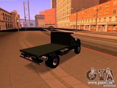 Chevrolet Silverado HD 3500 2012 pour GTA San Andreas laissé vue