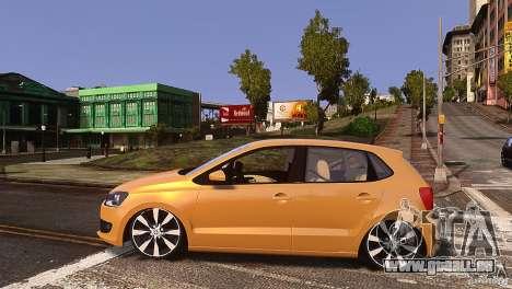 Volkswagen Polo pour GTA 4 est une gauche