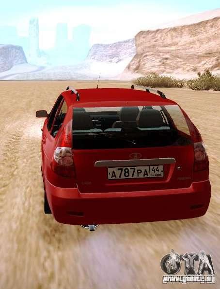 VAZ Lada Priora 2171 für GTA San Andreas zurück linke Ansicht