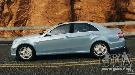 Mercedes-Benz E63 AMG 2010 pour GTA 4 est une gauche