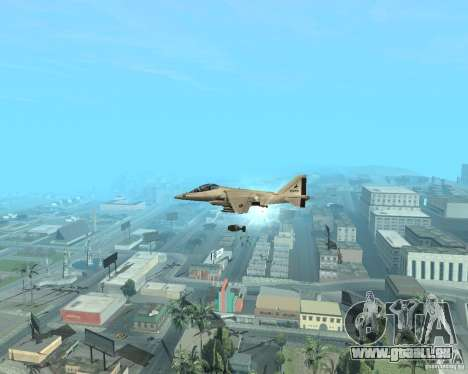 Cluster Bomber pour GTA San Andreas