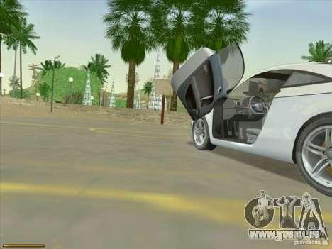 Audi TT Custom für GTA San Andreas rechten Ansicht