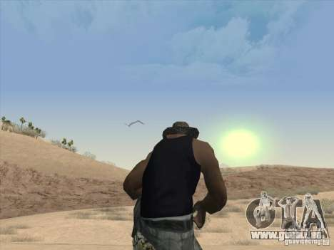 Schöne Wolken und mehr für GTA San Andreas dritten Screenshot