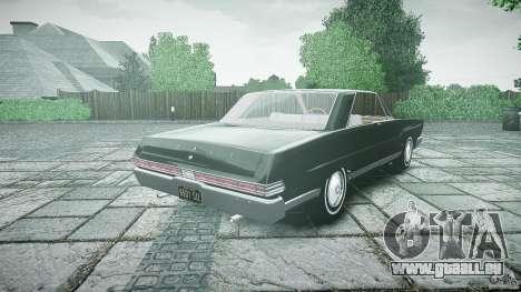 Ford Mercury Comet Caliente Sedan 1965 pour GTA 4 Vue arrière de la gauche