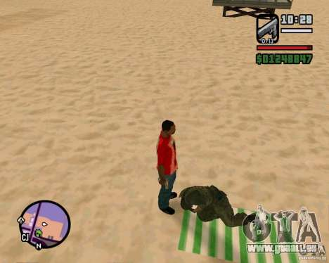 Aktion von COD Modern Warfare 2 für GTA San Andreas dritten Screenshot