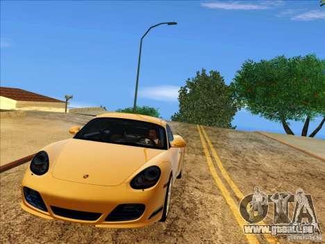 Porsche Cayman R 987 2011 V1.0 für GTA San Andreas Innenansicht