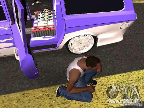 Lowrider GAZ 24-12 pour GTA San Andreas vue arrière