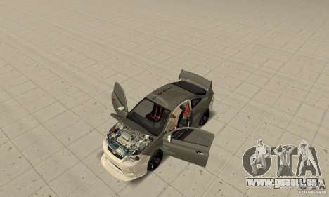 Chevrolet Cobalt SS NFS ProStreet für GTA San Andreas Innenansicht