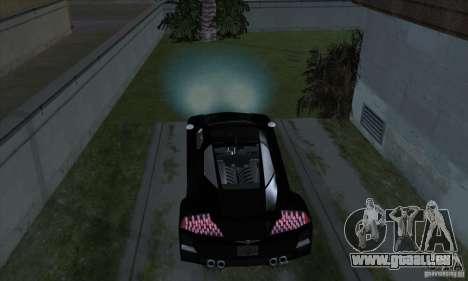 Lampes Xenon (phares xénon) pour GTA San Andreas cinquième écran