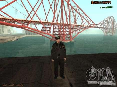 Sheriff Departament Skins Pack für GTA San Andreas zweiten Screenshot