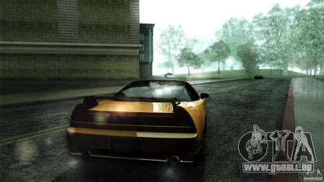 Honda NSX-R 2005 pour GTA San Andreas vue arrière