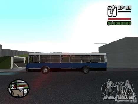 Ikarus 415.02 pour GTA San Andreas vue arrière