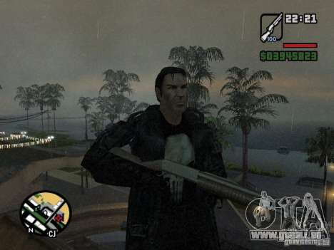 Der Punisher für GTA San Andreas