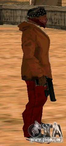 MW2 Deagle für GTA San Andreas