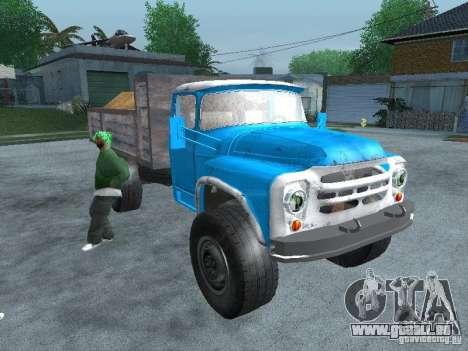 ZIL-130-Müllwagen für GTA San Andreas rechten Ansicht