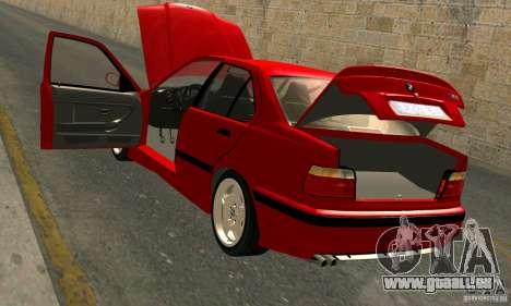 BMW M3 E36 für GTA San Andreas Unteransicht