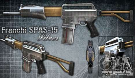 [Point Blank] Spas-15 pour GTA San Andreas