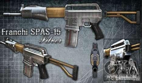 [Point Blank] Spas-15 für GTA San Andreas