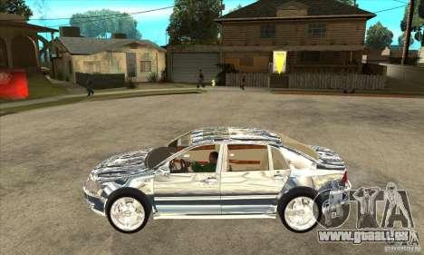 Chromé de Volkswagen Phaeton pour GTA San Andreas laissé vue