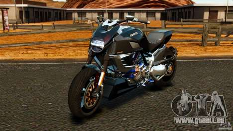 Ducati Diavel Carbon 2011 pour GTA 4