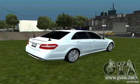 Mercedes-Benz E63 DPS für GTA San Andreas rechten Ansicht