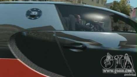 Bugatti Veyron 16.4 Super Sport pour GTA 4 Vue arrière de la gauche