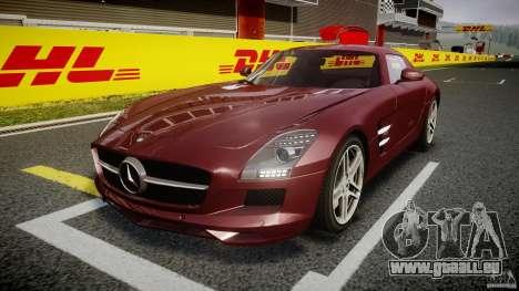 Mercedes-Benz SLS AMG 2010 [EPM] pour GTA 4 est une gauche