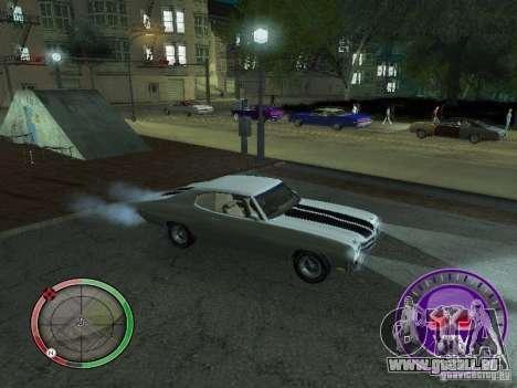 Skul Speedometer pour GTA San Andreas quatrième écran