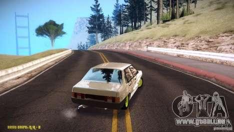 VAZ 21099 Hobo pour GTA San Andreas vue de droite
