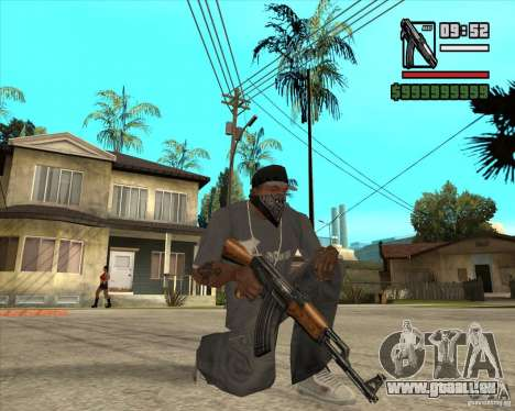 Millenias Weapon Pack für GTA San Andreas fünften Screenshot