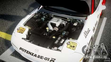 Mazda RX-7 1997 v1.0 [EPM] pour GTA 4 vue de dessus