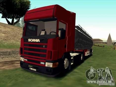 Scania 114L für GTA San Andreas linke Ansicht