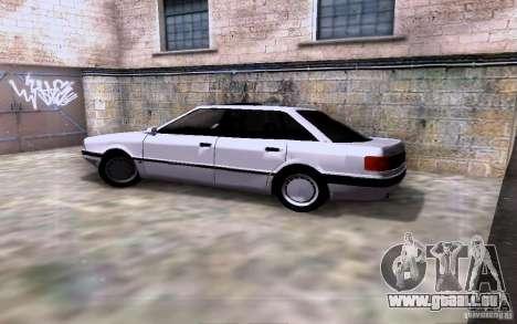 Audi 90 Quattro pour GTA San Andreas vue intérieure