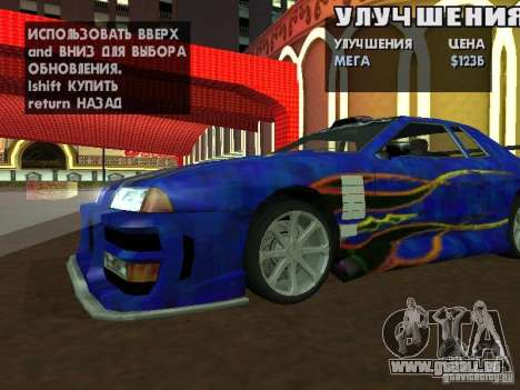 SA HQ Wheels für GTA San Andreas dritten Screenshot