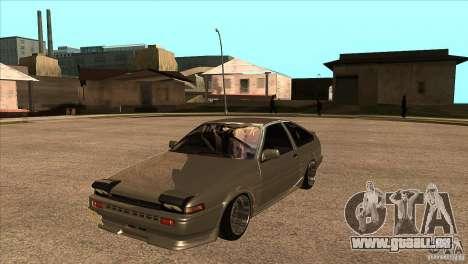 Toyota AE86 JDM für GTA San Andreas