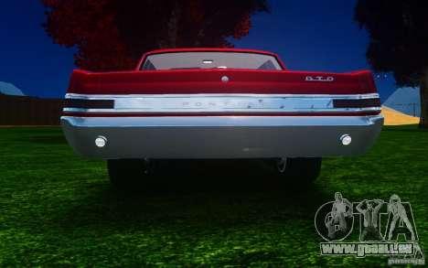 Pontiac GTO 1965 FINAL für GTA 4 rechte Ansicht