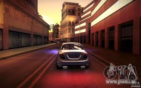 Mercedes Benz CL65 AMG pour GTA San Andreas moteur