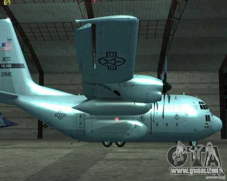 C-130 hercules pour GTA San Andreas laissé vue