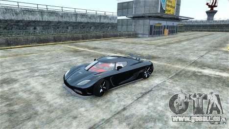 Koenigsegg Agera R für GTA 4 linke Ansicht