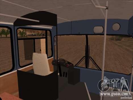 MAN SL200 Exclusive v.1.00 pour GTA San Andreas salon