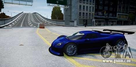 Gumpert Apollo Sport 2011 pour GTA 4 Vue arrière
