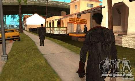Dante de Devil May Cry pour GTA San Andreas quatrième écran