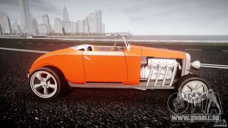 Hot Rod pour GTA 4 est une vue de l'intérieur
