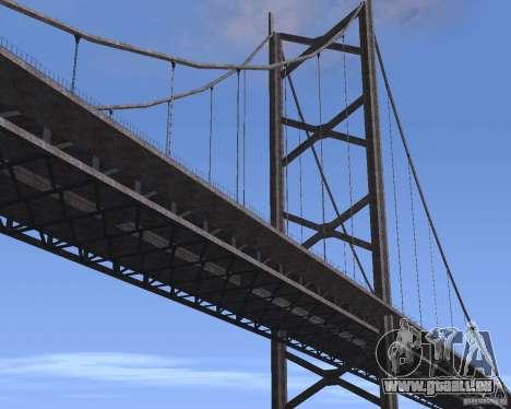 Neue Texturen der drei Brücken in SF für GTA San Andreas neunten Screenshot