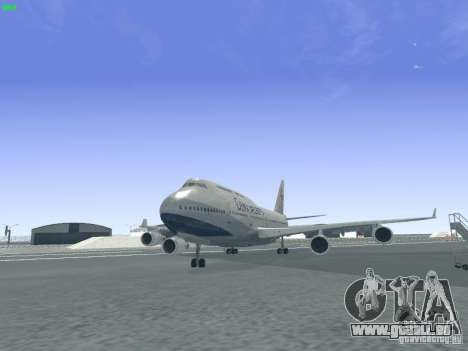 Boeing 747-400 China Airlines für GTA San Andreas
