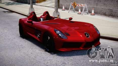 Mercedes-Benz SLR McLaren Stirling Moss [EPM] pour GTA 4 Vue arrière