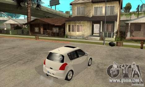 Suzuki Swift 4x4 CebeL Modifiye pour GTA San Andreas vue de droite